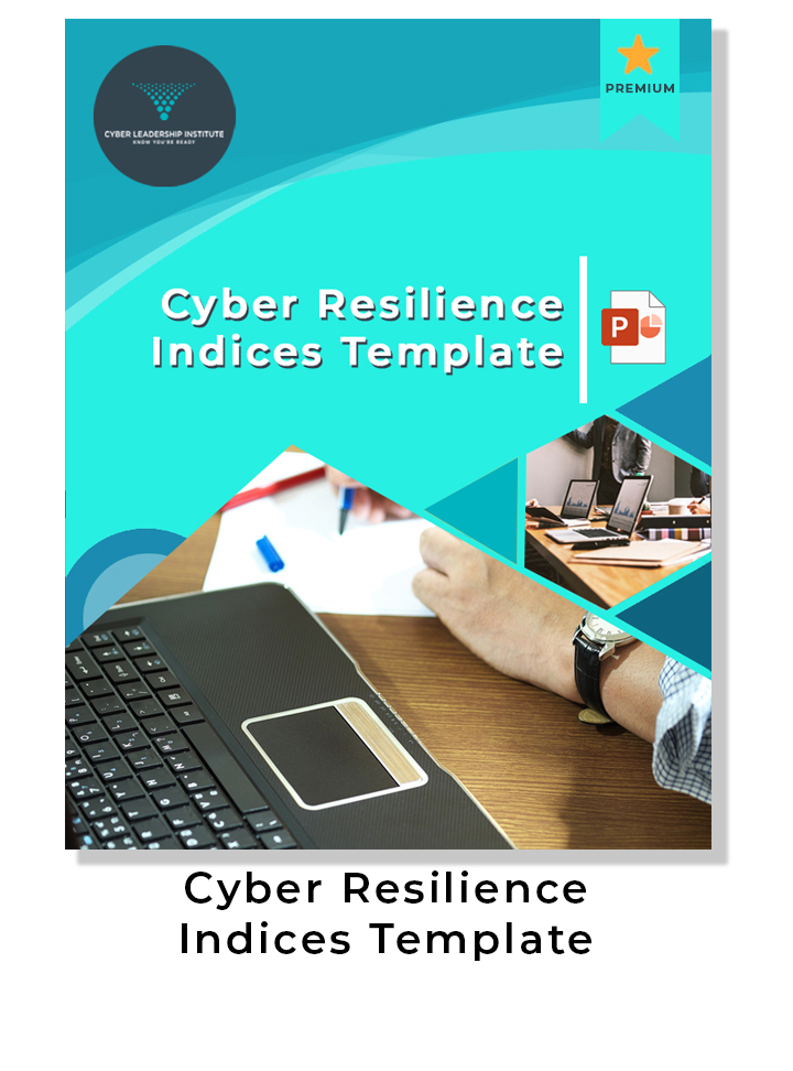 CISO - cyber resilience indices template