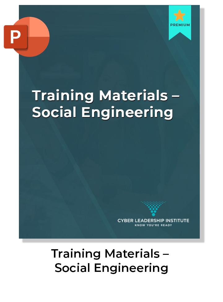 CISO training materials
