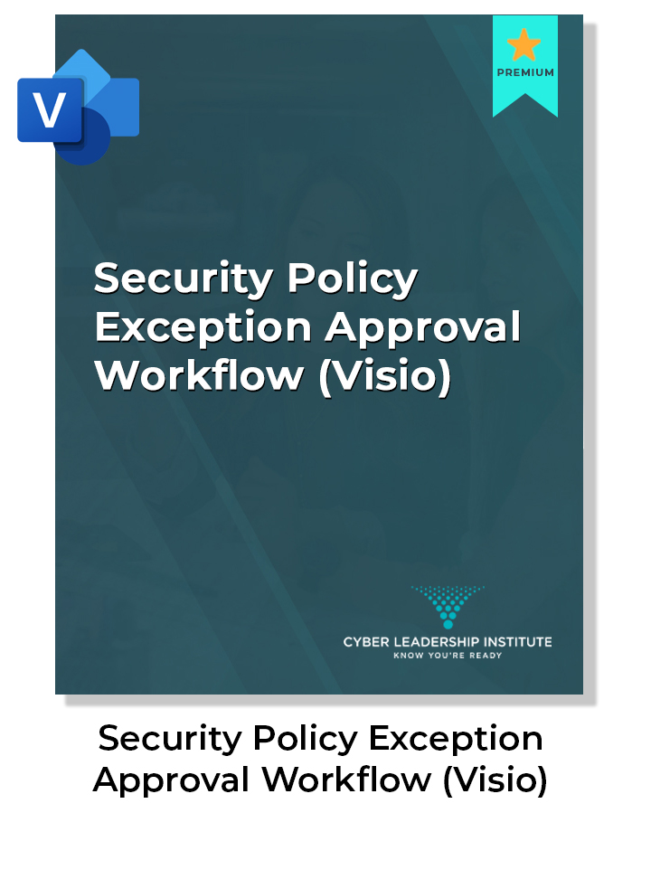 CISO certification - security policy exception workflow