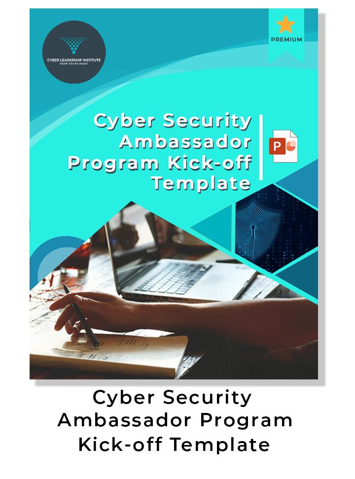 cyber security ambassador program