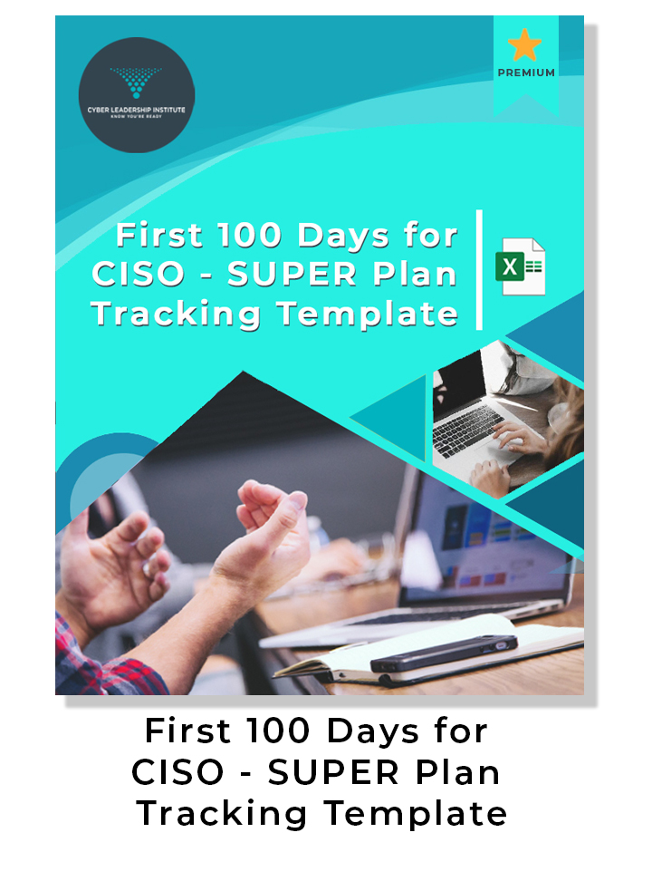 first 100 days for CISO