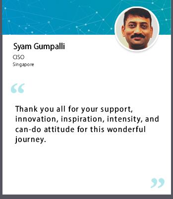 Syam Gumpalli Testimonial